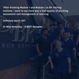dr bob khanna training institute module 2 testimonial